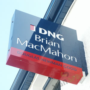 DNG BMcM Projecting Sign