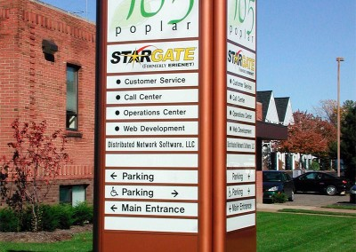 Exterior Way Finding Signs by Signs of Significance