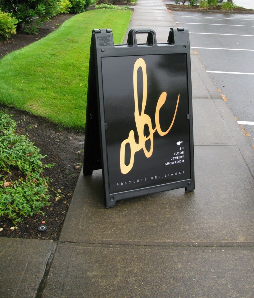 A Frame Sidewalk Signs By Signs Of Significance Atlanta